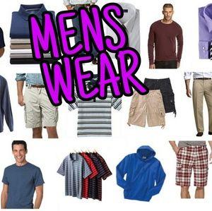 Men's Wear Section